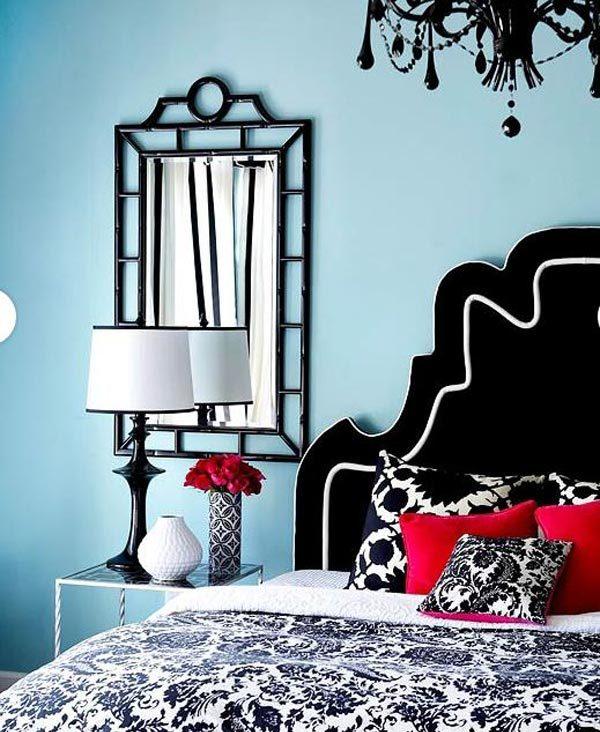 Cat Warna Biru untuk Interior Kamar Tidur