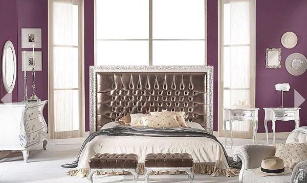 12 inspirasi cat warna kamar tidur nulis for Purple and brown bedroom designs