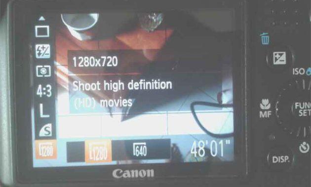 Video Canon PowerShot SX160