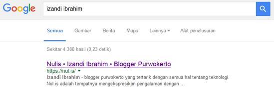 Dikenal Google