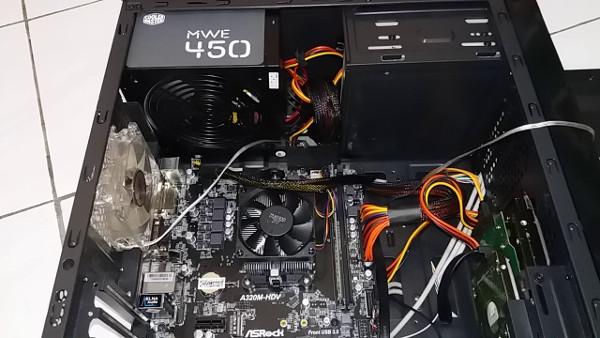 PC Rakitan AMD A8-9600 3.4GHz