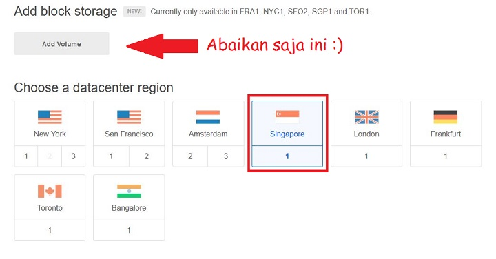 VPS Singapore DigitalOcean