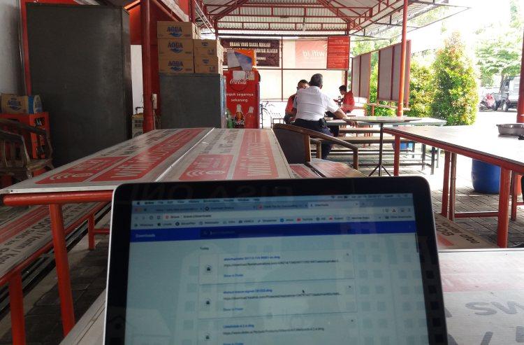 Wifi Corner Telkom Gerilya Purwokerto