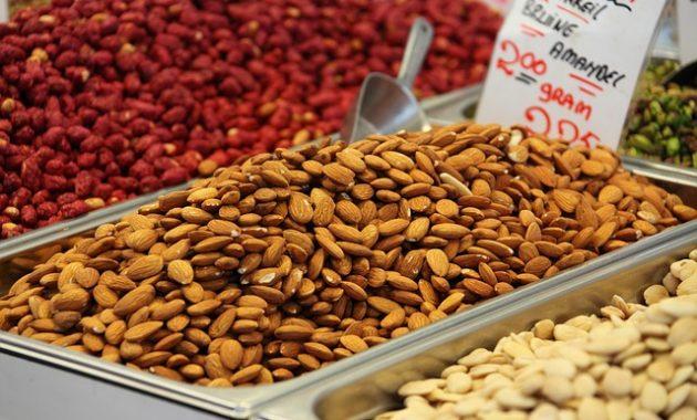 Kacang Almond, Bagus untuk Penderita Hipertensi
